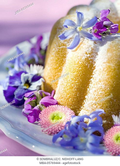 Flower Gugelhupf (cake), Close up