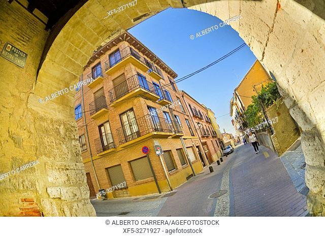 Arco del Postigo, Postern Arch, 10th Century, Old Town, Toro, Zamora, Castilla y León, Spain, Europe