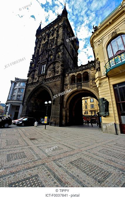 Czech Republic, Prague, powder tower