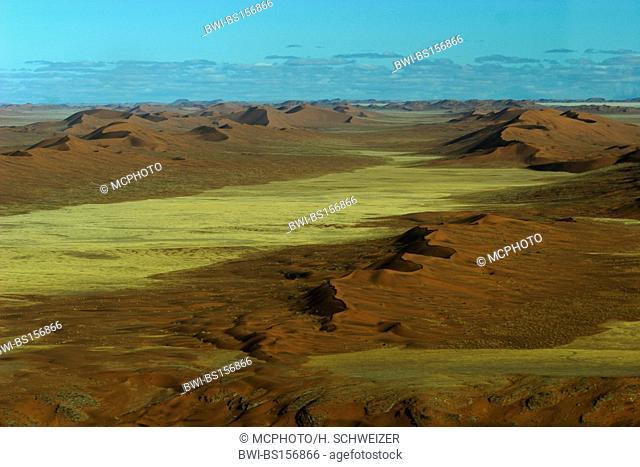 aerial of the Namib desert, Namibia, Namib Naukluft National Park