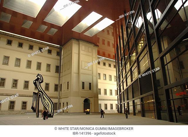 Museo Nacional Centro de Arte Reina Sofia, Madrid , Spanien , Europa