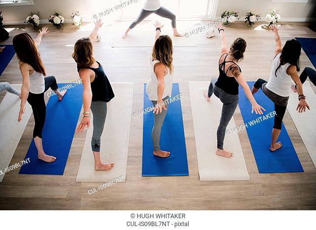 Women at yoga retreat