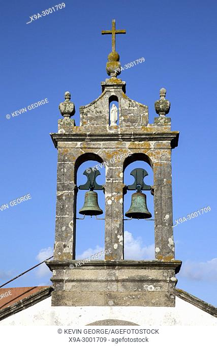 San Adrian Chapel Bell Tower, Malpica; Fisterra; Costa de la Muerte; Galicia; Spain