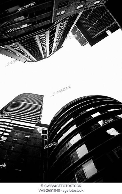 Chongqing, China - The skyscrapers of Chongqing city
