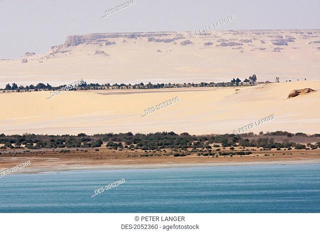 Lower Lake, Wadi El Rayan, El Fayoum, Egypt