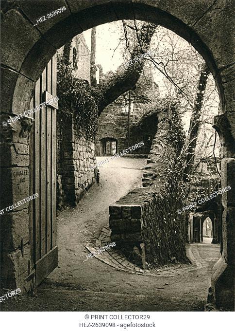 'Hohenbaden ruin', 1931. Artist: Kurt Hielscher