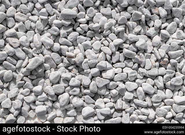 White stones texture. It can be used as background