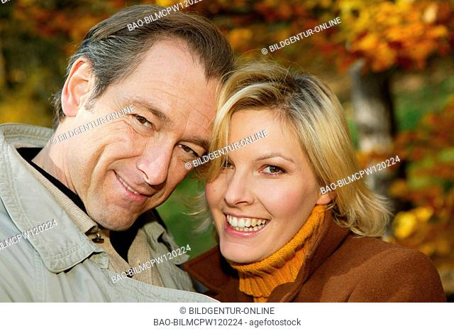 couple in autumn