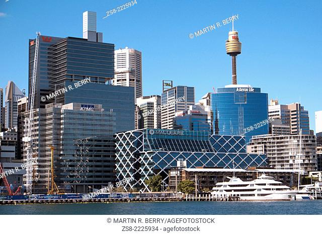 Darling Harbor and Sydney Central Business District