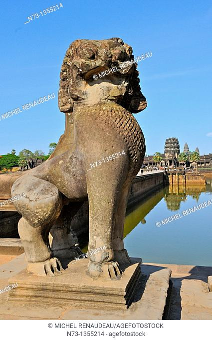 Cambodia, Siem Reap, Siem Reap, the temples of Angkor, classified UNESCO World Heritage, Angkor Wat