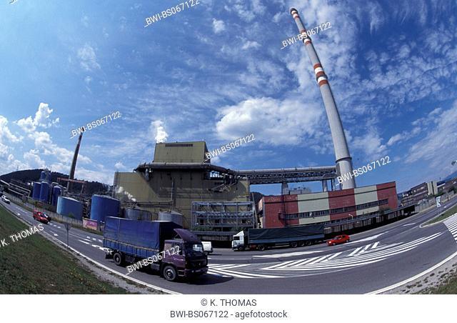 industrial plant, Slovak Republic, Great Fatra, Ruzomberok