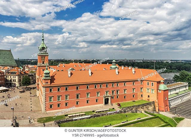 The Royal Castle in Warsaw (Zamek Krolewski w Warszawie) was the seat of Polish kings until the 18th century. It is located on the Castle Square in old town...