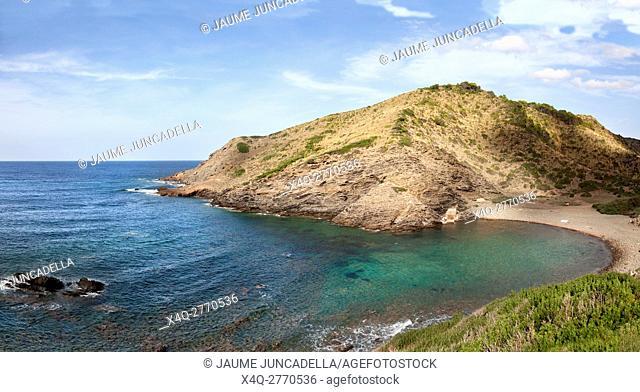 Beach in Menorca island