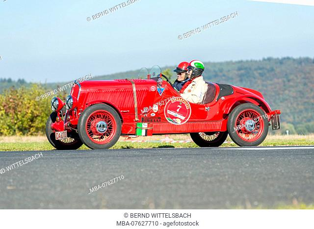 Michelstadt, Hesse, Germany, Fiat 508 Balilla Coppa d'Oro, 1000 ccm, 30 HP, year of manufacture 1934 on the event Pista & Piloti