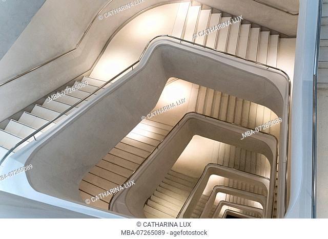 Madrid, Caixa Forum, Cultural Center, Staircase