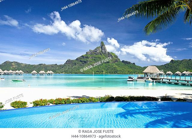 Tahiti, Society Islands, Bora Bora Island, Le Meridien Resort