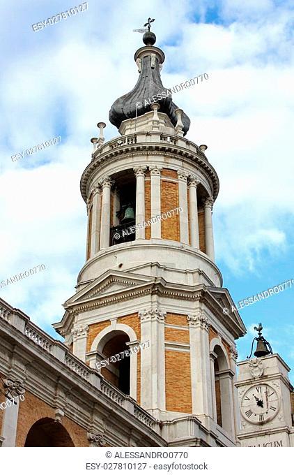 Belfry of the Shrine of Loreto, Italy