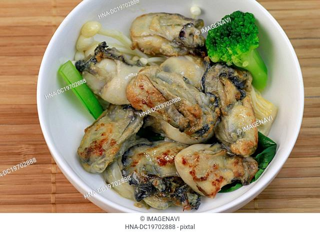 Sauteed oyster