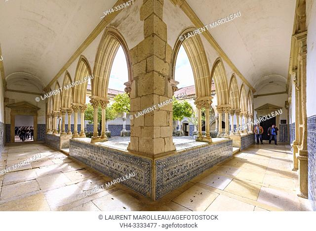 Cemetery Cloister of the Convent of Christ in Tomar, Santarem District, Centro Region, Portugal, Europe