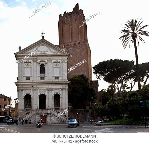 Rom, Santa Caterina und Torre delle Milizie