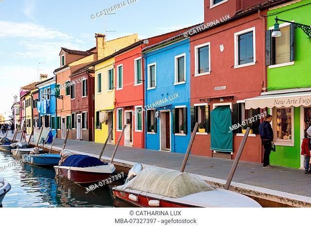 Venetian lagoon, island of Burano, Giudecca