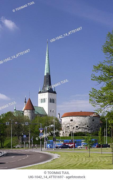 The Fat Marghareta (Paks Margareeta) cannon tower houses the Estonian State Maritime Museum
