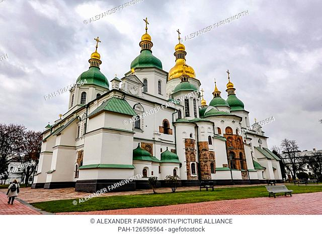 Kiev, Ukraine St Sophia's Cathedral The cathedral was built over nine centuries and is a great example of Byzantine and Ukrainian Baroque architecture
