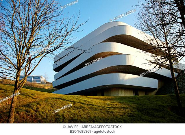 Building, Basque Culinary Center, Faculty of Gastronomic Sciences and a Centre for Research and Innovation in Food and Gastronomy, Mondragon University