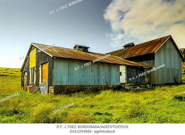 Old warehouse. Iceland