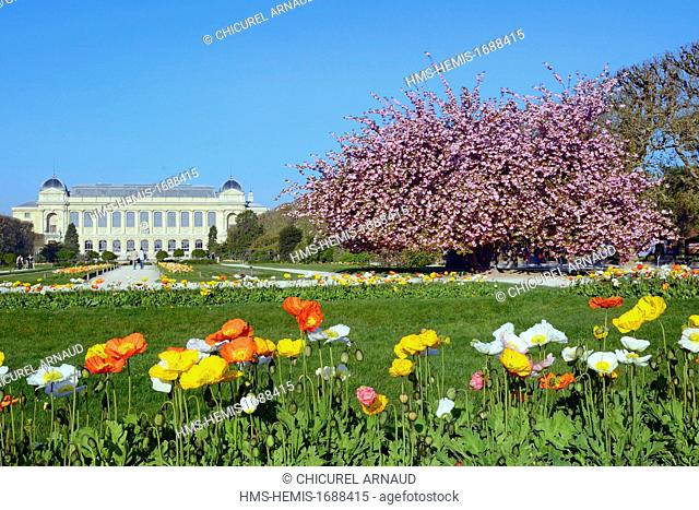 France, Paris, Museum of Natural History, the Plants Gardens and the Grand Gallery of Evolution
