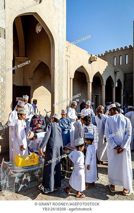 The Friday Bird Market, Nizwa, Ad Dakhiliyah Region, Oman