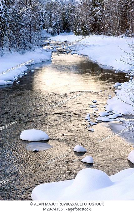 Methow River, Washington, USA