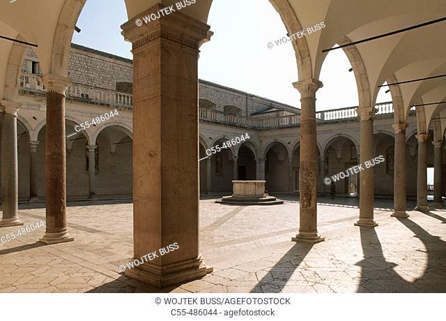 Benedictine Abbey of Monte Cassino. Lazio, Italy