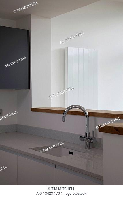 Sink and tap detail in Modern Apartments, Hampton Wick