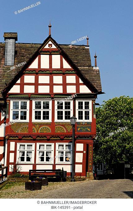 Schieder-Schwalenberg near Lippe framework village North Rhine Westphalia Germany Rathaus