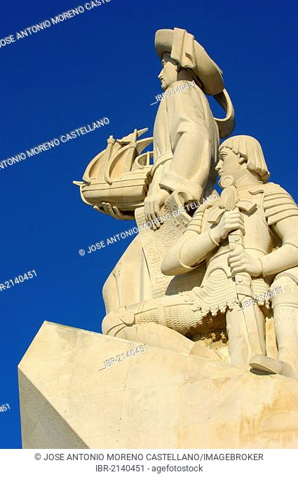 Monument to the Discoveries, Padrao dos Descobrimentos, Belem, Lisbon, Portugal, Europe