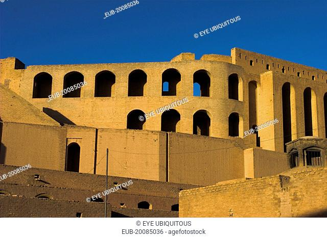 Inside The Citadel (Qala-i-Ikhtiyar-ud-din) Originally built by Alexander the Great but built in it's present form by Malik Fakhruddin in 1305 A.D