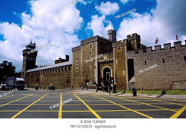 Cardiff Wales Norman Castle