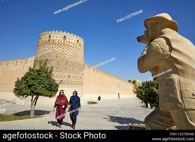 The citadel of Karim Khan in the Iranian city of Shiraz, taken on 03.12.2017. It was built during the Zand dynasty and served the eponymous ruler Karim Khan as...
