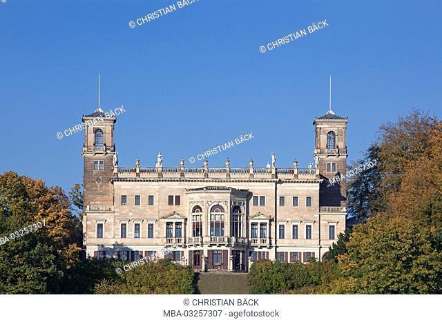 Castle Albrechtsberg, Radeberger suburb, Dresden, Saxony, Germany