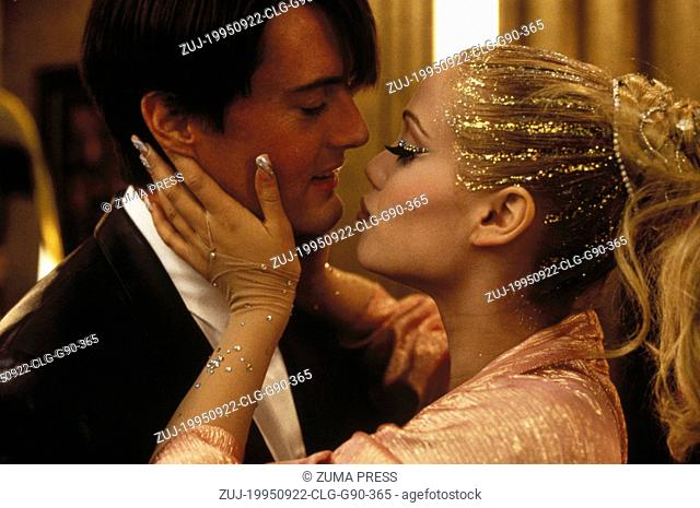 Sep 22, 1995; Las Vegas, NV, USA; Actress ELIZABETH BERKLEY stars as Nomi Malone and KYLE MACLACHLAN as Zack Carey in the Paul Verhoeven directed drama