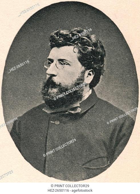 'Bizet.', 1875, (1895). Artist: Unknown