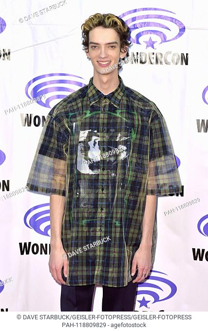 Kodi Swith-McPhee at Photocall on 'X-Men: Dark Phoenix' at WonderCon 2019 at the Anaheim Convention Center. Anaheim, 29.03.2019   usage worldwide