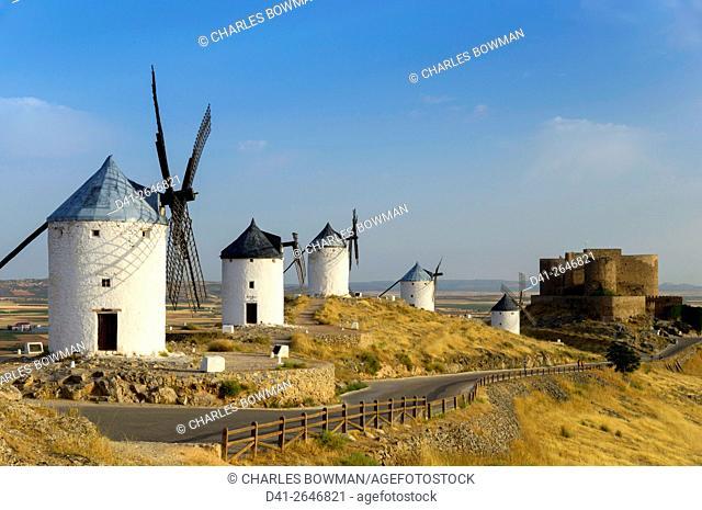 Europe, Spain, Consuegra