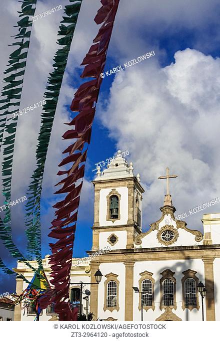Sao Domingos Church, Terreiro de Jesus Square, Old Town, Salvador, State of Bahia, Brazil