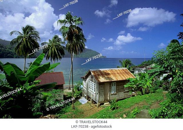 Man of war bay, Charlotteville, Tobago, Caribbean