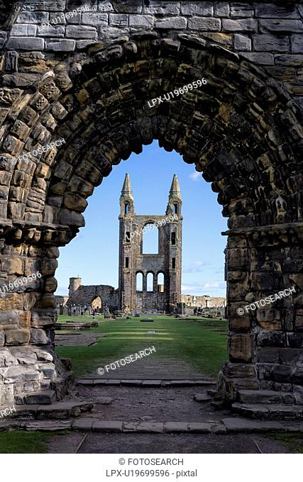 Cathedral ruins, St. Andrews , Scotland