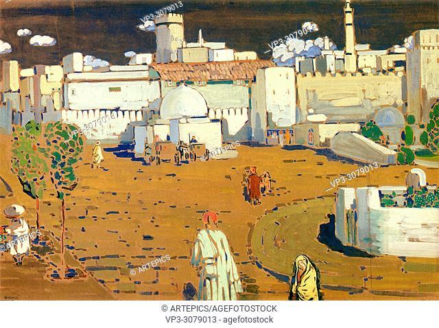 Kandinsky Wassily - Arab Town