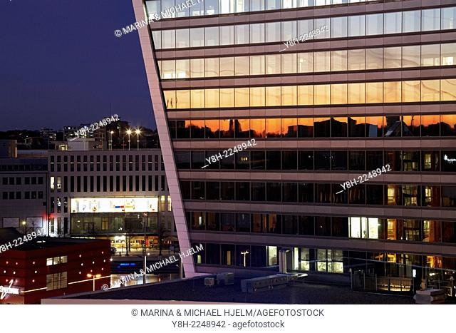 Stena Line Building at Kiel, Schleswig-Holstein; Germany