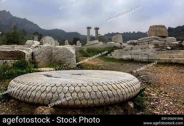 Artemis temple Sardes, Salihli, Manisa, Turkey